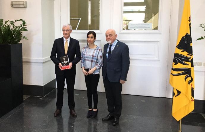 Bezoek Nadia Murad - Vlaams Parlement
