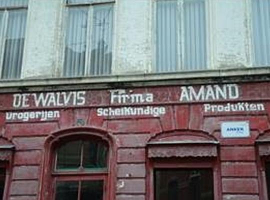 Voormalige drogisterij De Walvis in Sint-Niklaas