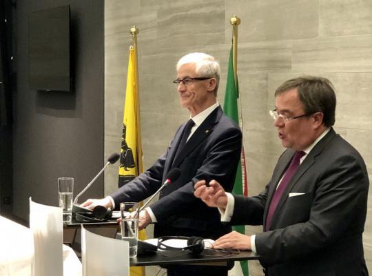 Gezamenlijke regeringszitting Vlaanderen - Noordrijn-Westfalen
