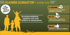 """Vlaamse klimaattop: """"Klimaat is uitdaging maar ook opportuniteit"""""""